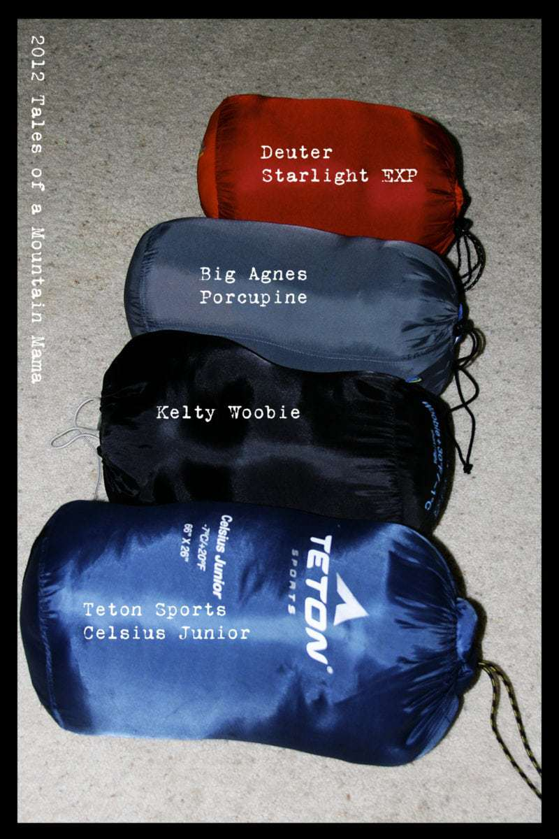Kids  Sleeping Bags - Are they worth it  - Tales of a Mountain Mama 273af78df