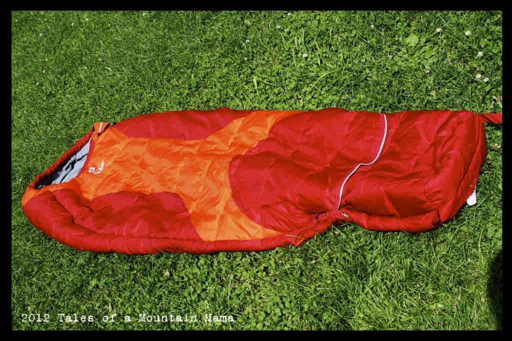 What ...  sc 1 st  Tales of a Mountain Mama & Deuter Starlight EXP Kidsu0027 Sleeping Bag - Tales of a Mountain Mama