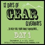 12 Days of Gear Giveaways: Day 1 Keeping Kids Warm
