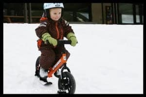 Strider Bike + Skis
