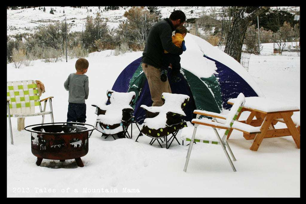 Tips for Winter Camping with Kids Tales of a Mountain Mama