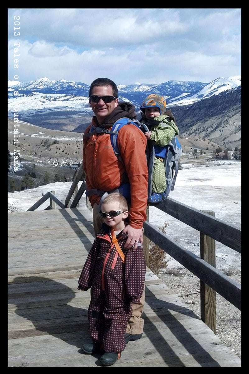 How Can you Carry Your Kids? Let me count the ways! + Deuter Giveaway