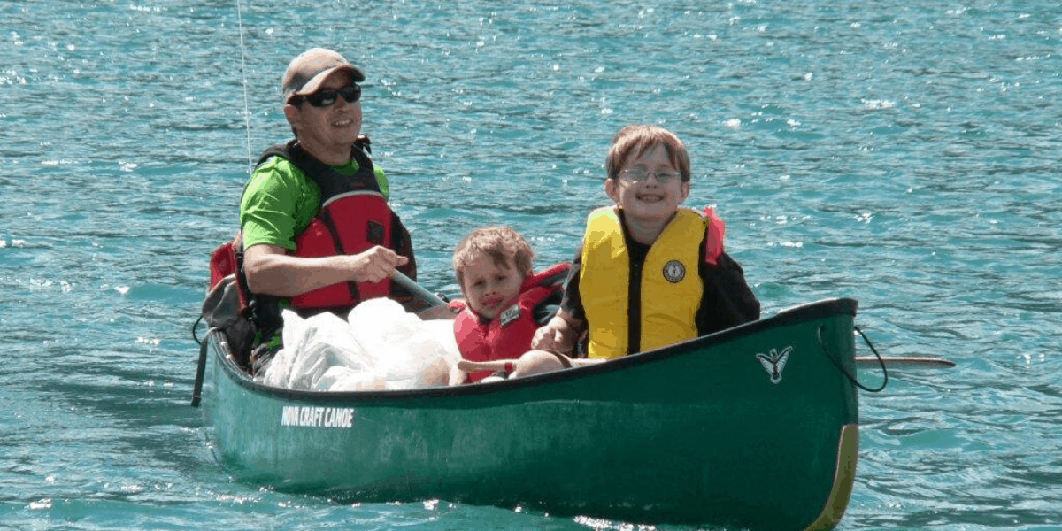 Canoe Camping with Kids