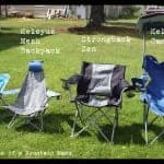 A Camping Chair Breakdown + Giveaways