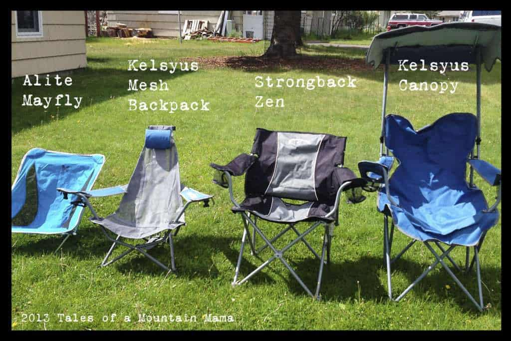 A Camping Chair BreakdownGiveawaysTales of a Mountain Mama