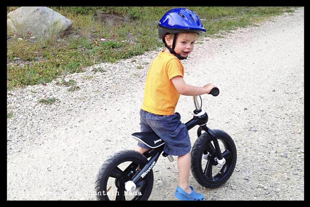 Joovy Bicycoo Balance Bike And Bmx Bike Noodle Helmet Tales Of