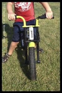 BMX handle bar shape
