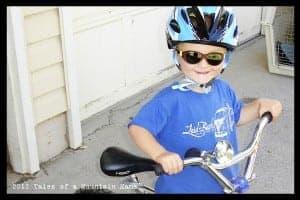 J wearing the Nut'Z helmet