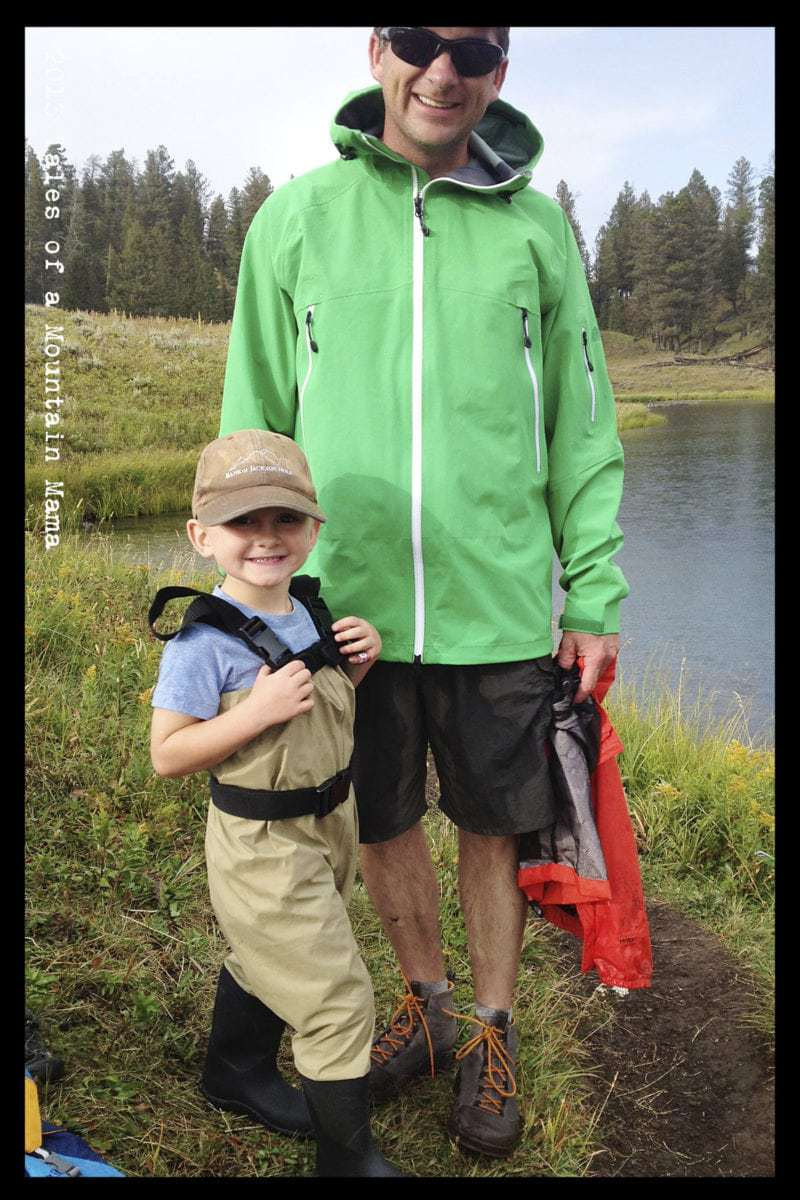 Oakiwear waders for kids keep kids exploring tales of for Youth fishing waders