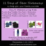 12 Days of Gear Giveaways Day 4: Adventuring Kids