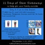 12 Days of Gear Giveaways Day 5: Fun in the Snow!