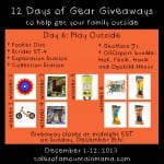 12 Days of Gear Giveaways Day 6: Play Outside