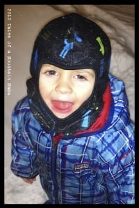 Bula Balaclava (the same one pictured above) on a 2.5 year old (with a small head! ;))