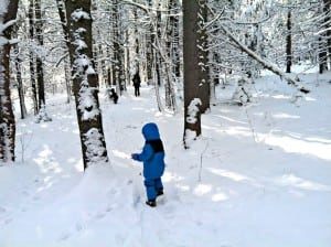 7 Tips for Fun Winter Hiking with Kids {Guest Post}
