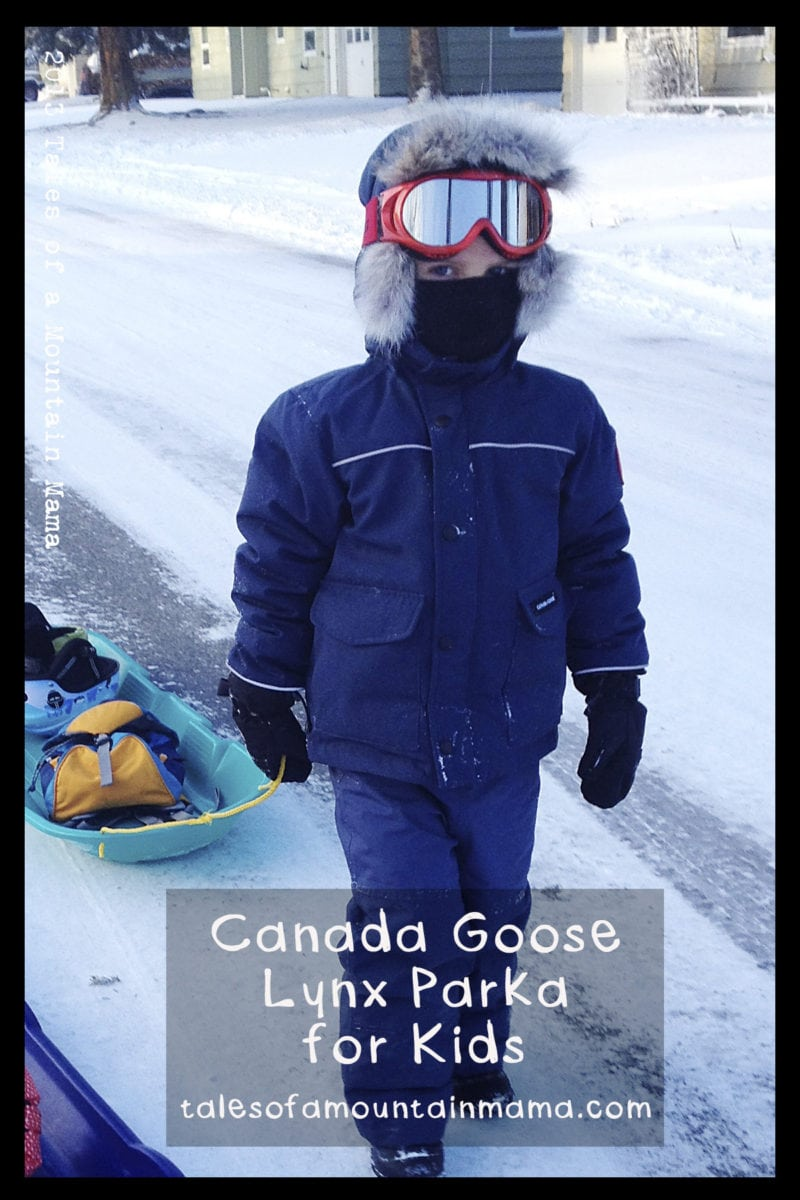 Canada Goose Lynx Parka for Kids