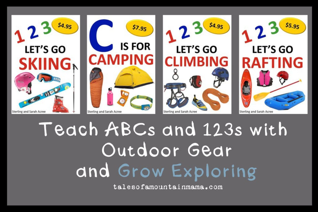 Teach ABCs and 123s with Outdoor Gear