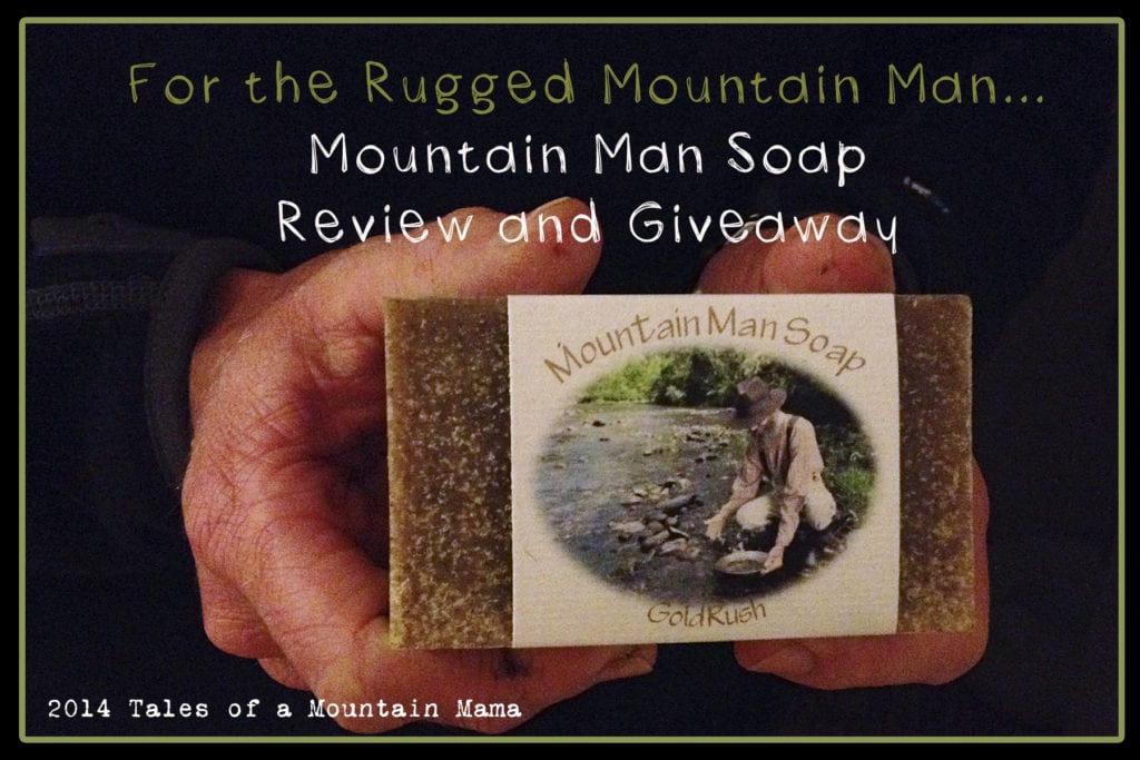 Mountain Man Soap {Review and Giveaway}