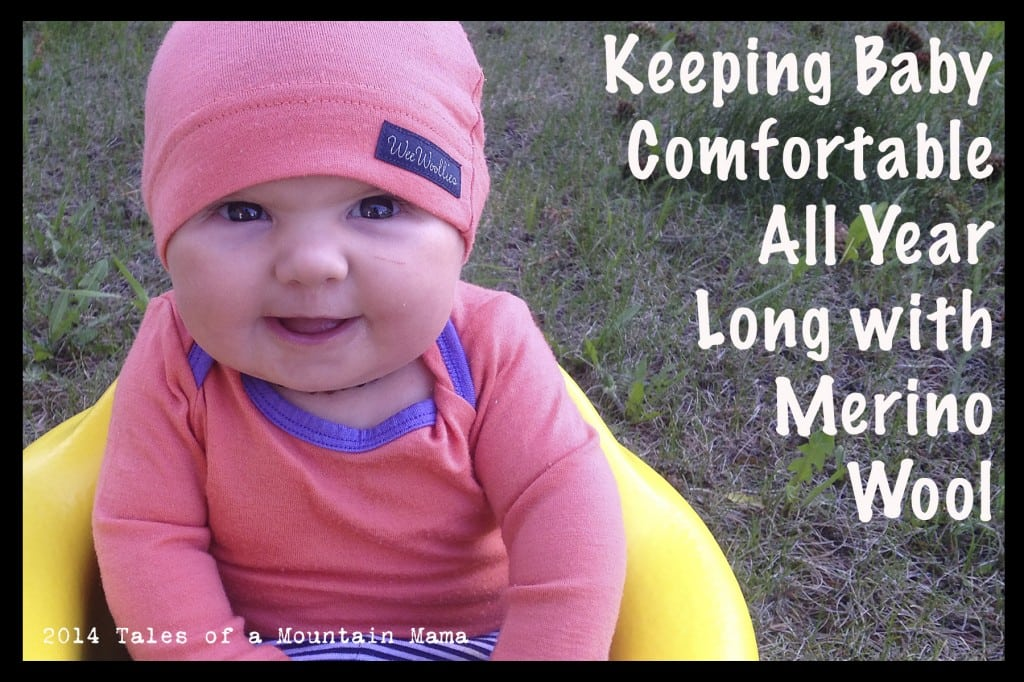 Keeping Baby Comfortable Year-Round {Wee Woollies Review + Giveaway}