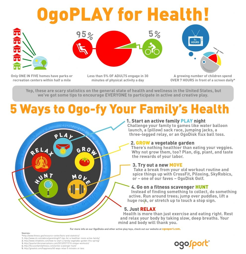 5 Ways to Get Your Family Moving, Thinking and Playing + OgoSport Giveaway