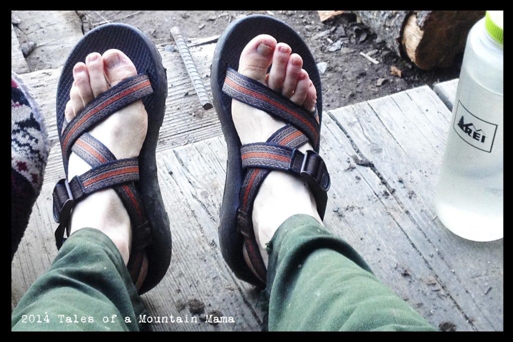 Summertime Chaco Feet