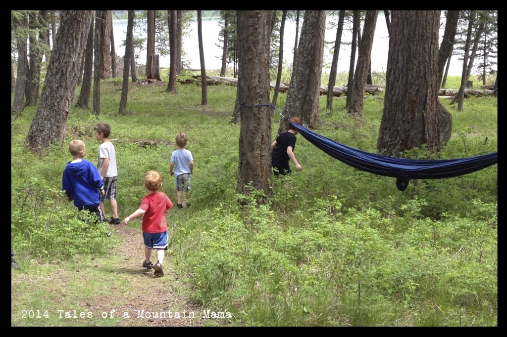 Fun around the Campsite {Some Extra Tricks + Giveaway}
