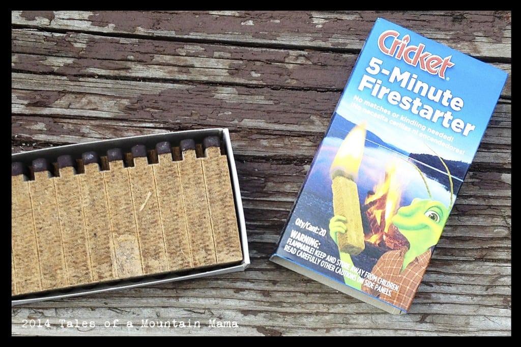 Cricket 5-Minute Firestarter + Giveaway