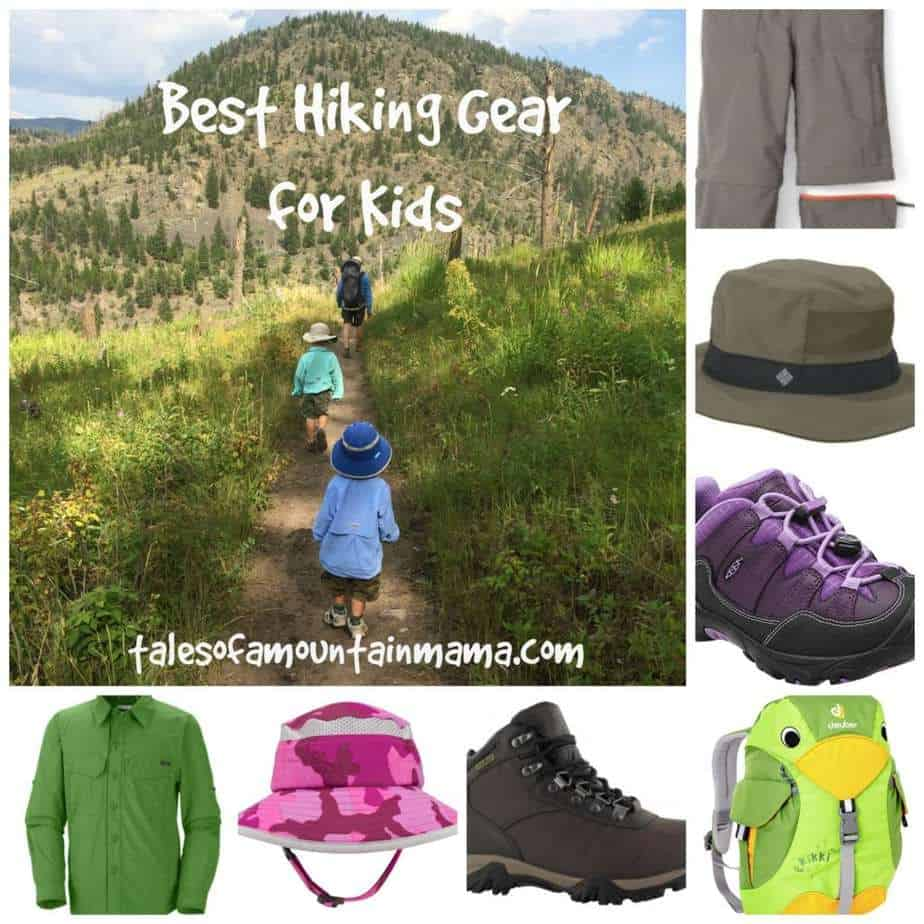 Favorite Hiking Gear for Kids + Giveaway