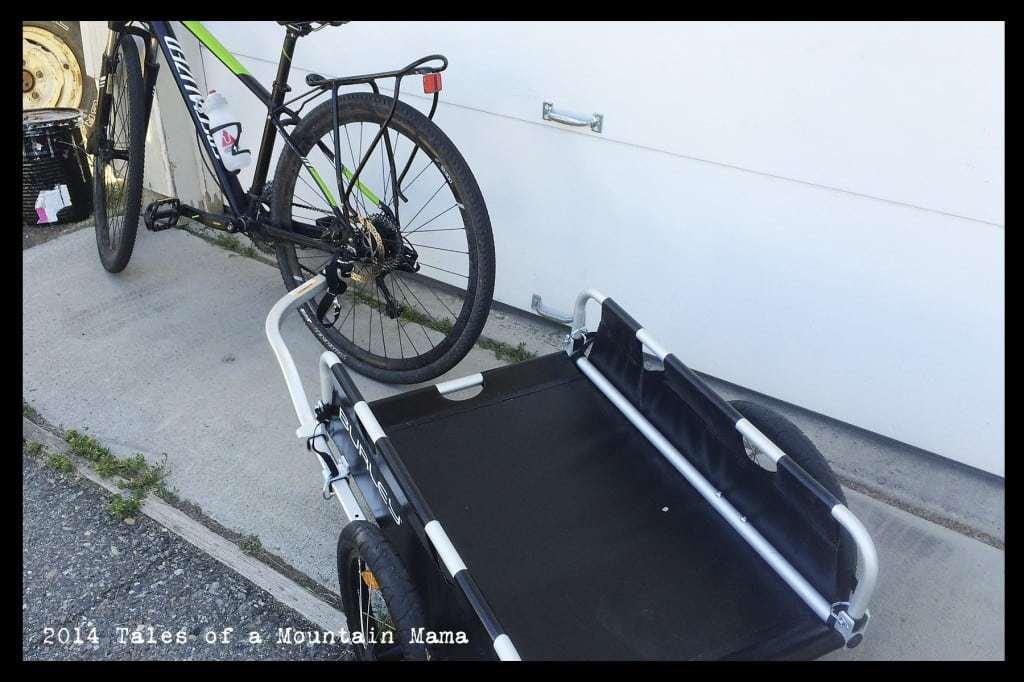 Burley Flatbed Cargo Trailer