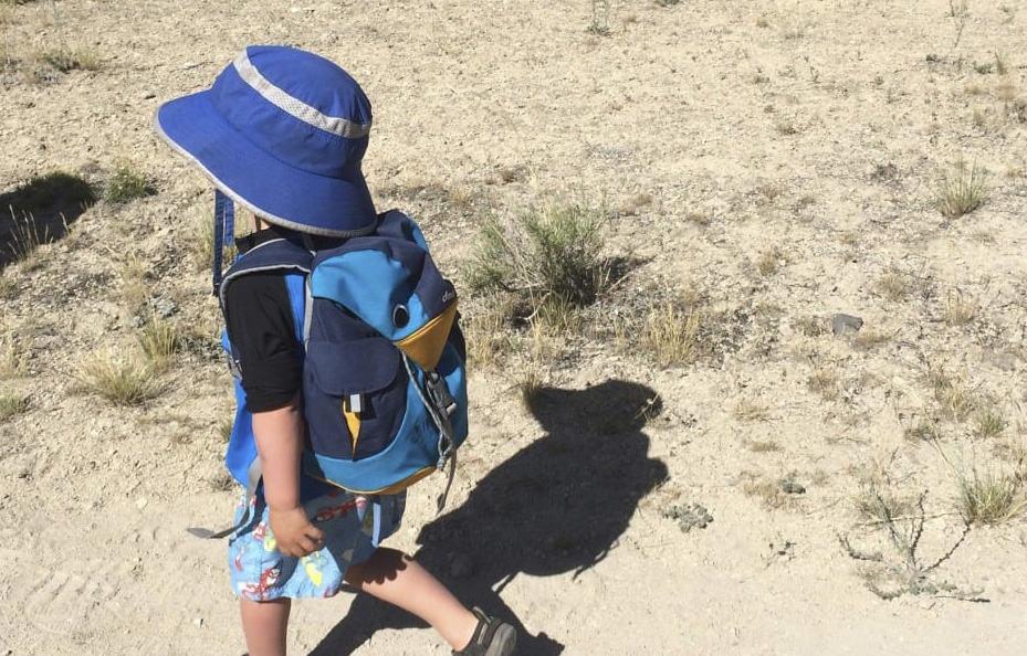 Mountain Hardware kids sun hat full brim boys size small age 4-7