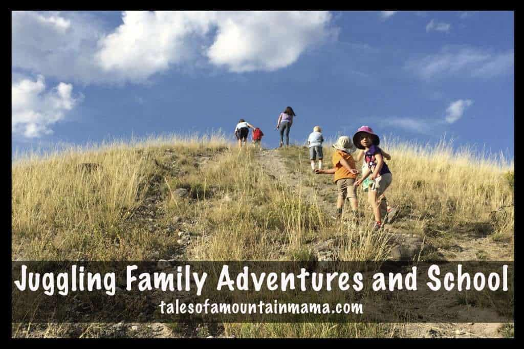 Juggling Family Adventures and School