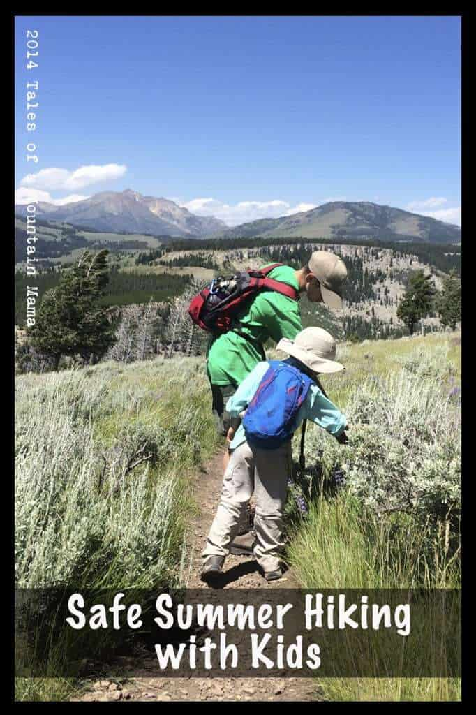 Safe Summer Hiking With Kids + Sierra Trading Post Giveaway