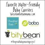 Our Favorite Water-Friendly Baby Carriers + Coupon Code
