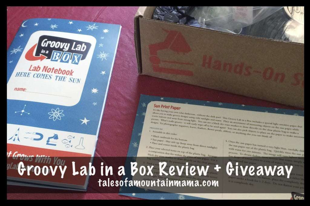 Groovy Lab in a Box Review + Giveaway