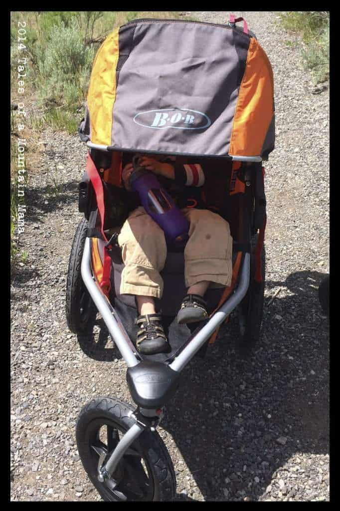 BOB Revolution SE + Britax Infant Car Seat Review