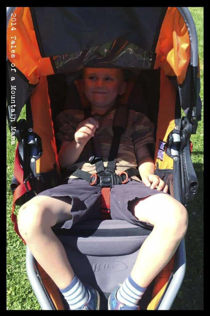 BOB Revolution SE + Britax Infant Car Seat Review