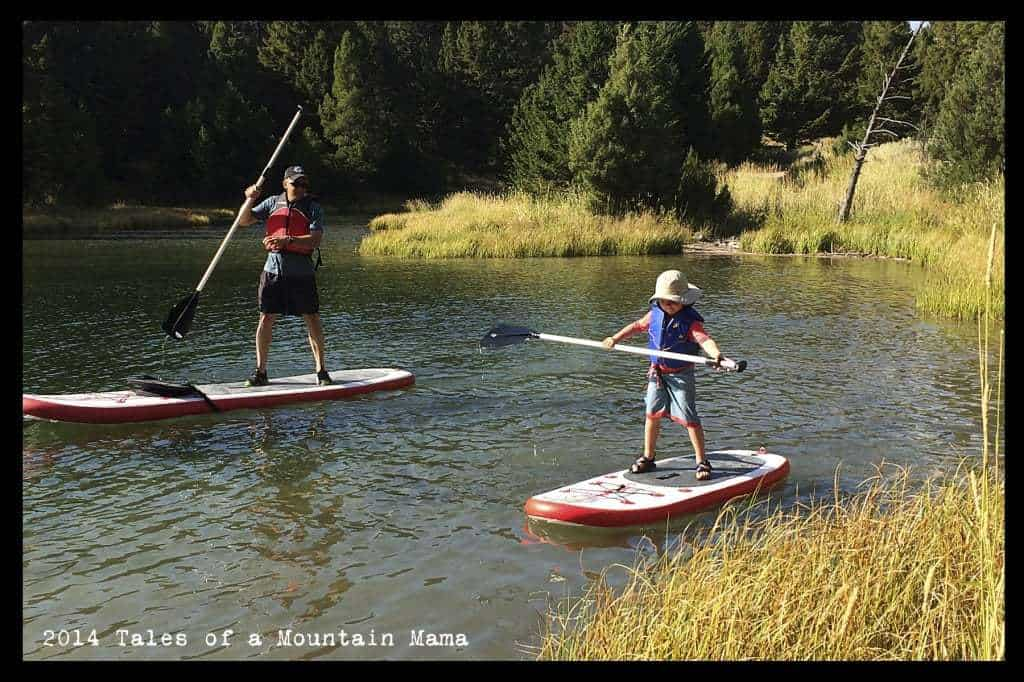 Falling in love with SUPing + Lucky Bums Coupon Code