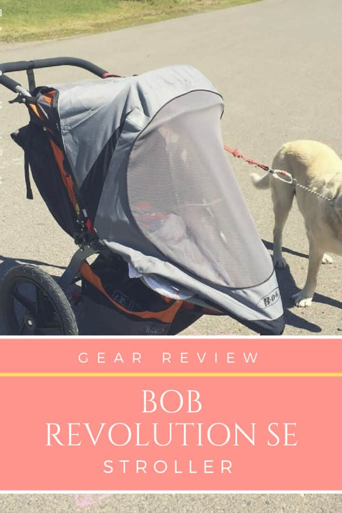 bob revolution se stroller review