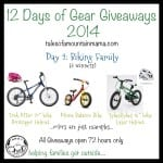 12 Days of Gear Giveaways: Day 2 – Biking Family