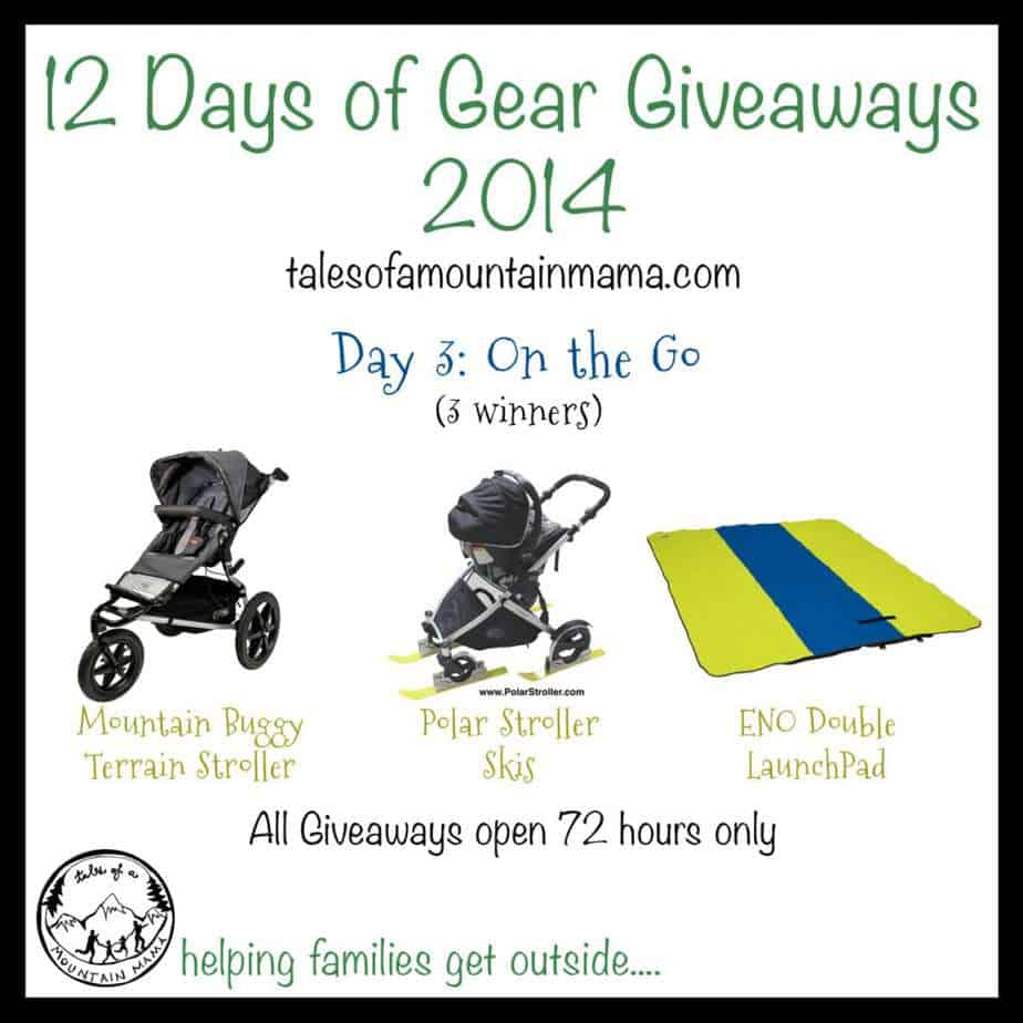 12 Days of Gear Giveaways: Day 3 - On the Go!