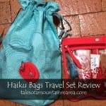 Haiku Bags Brand Spotlight + Travel Set Review