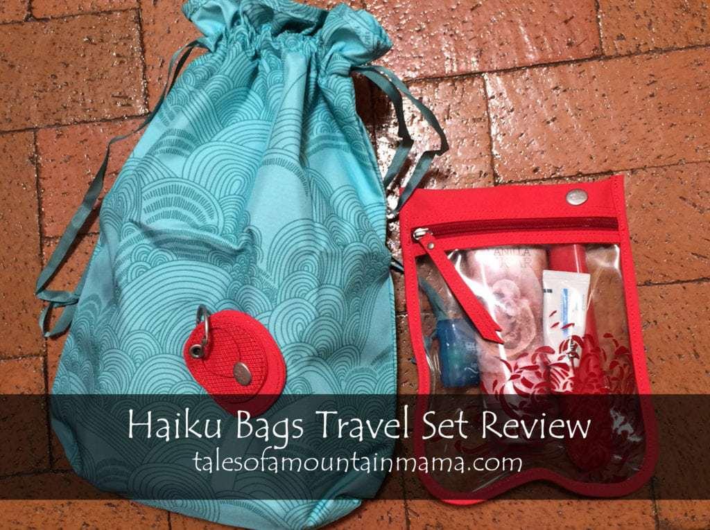 Haiku Bags Brand Spotlight + Travel Set Review