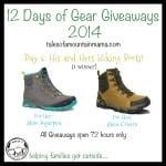 12 Days of Gear Giveaways: Day 6 – His and Hers Hiking Boots