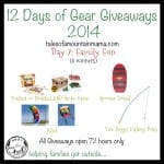 12 Days of Gear Giveaways: Day 7 – Family Fun