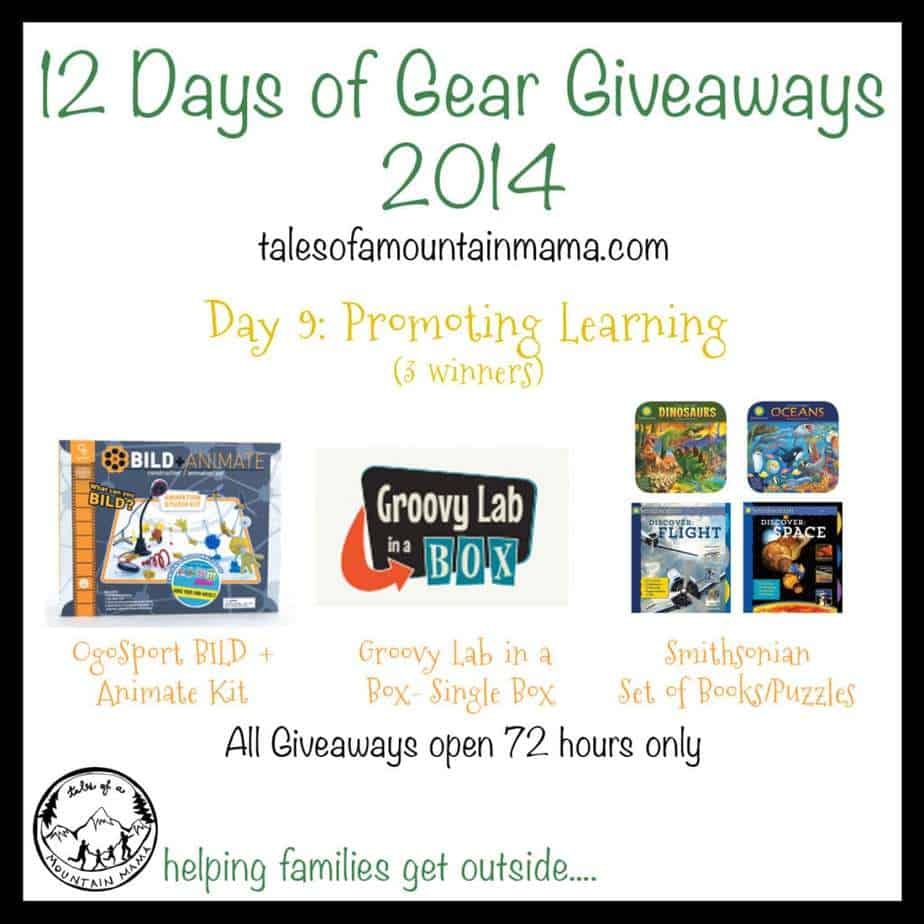 12 Days of Gear Giveaways: Day 9 - Promoting Learning