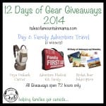12 Days of Gear Giveaways: Day 8 – Family Adventure Travel