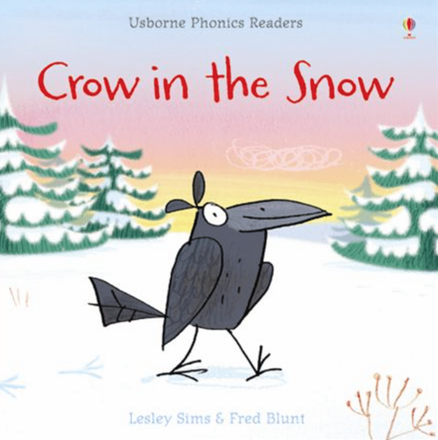 Crow in the Snow Cover