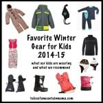 Great Gear to Keep Kids Warm: 2014 – 2015 Edition