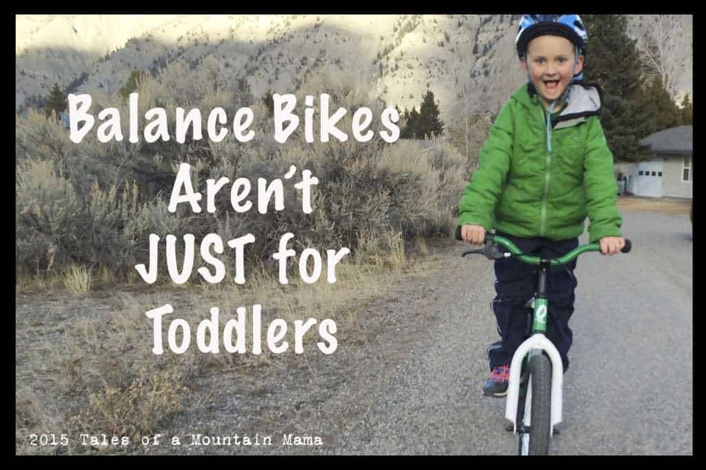 Balance Bikes Aren't Just for Toddlers