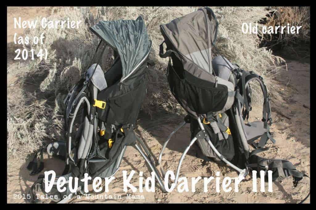 Deuter Kid Carrier III - updated 2014 version