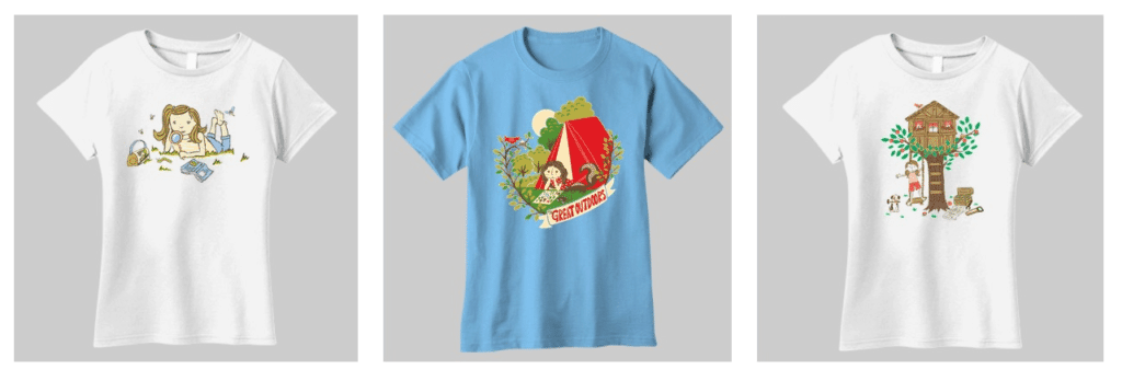 O.F.F.: Sunrise Girl Shirts + Giveaway